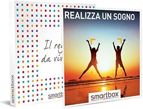 SMARTBOX - Cofanetto regalo uomo o donna- idee regalo originale - Sogno momenti a scelta fra soggiorni, benessere e avventura