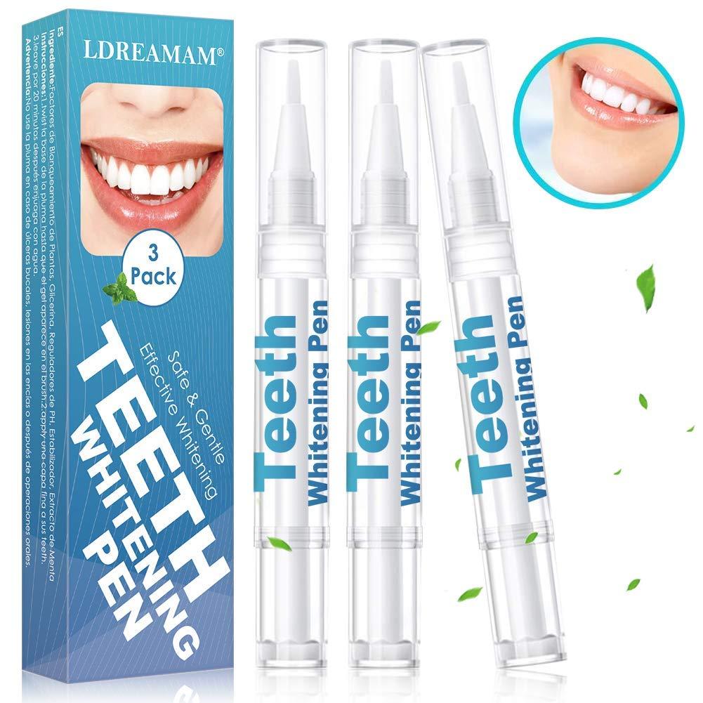 Sbiancante per i denti,Sbiancamento dei denti,Gel Sbiancante per Denti,Kit sbiancamento dei denti,Tartaro Rimozione, Penna Sbiancante per Denti più forti e Sorriso più luminoso 3PC