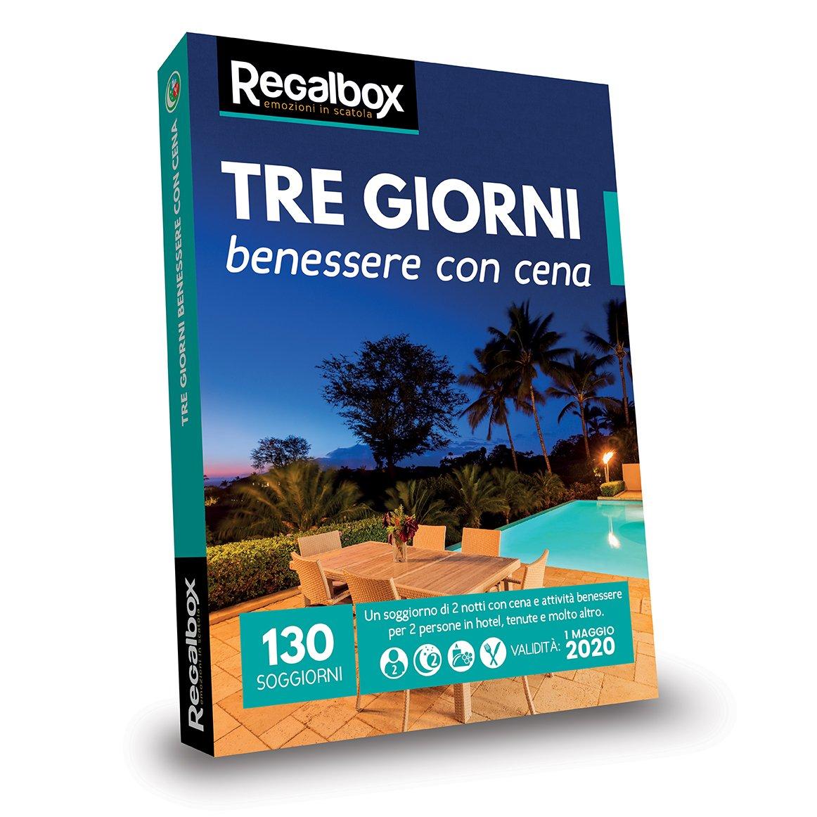 Regalbox - Tre Giorni Benessere con Cena 2018 - Cofanetto Regalo