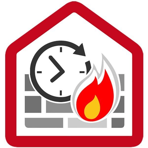 A cosa è dovuta la grande resistenza al fuoco delle case in legno