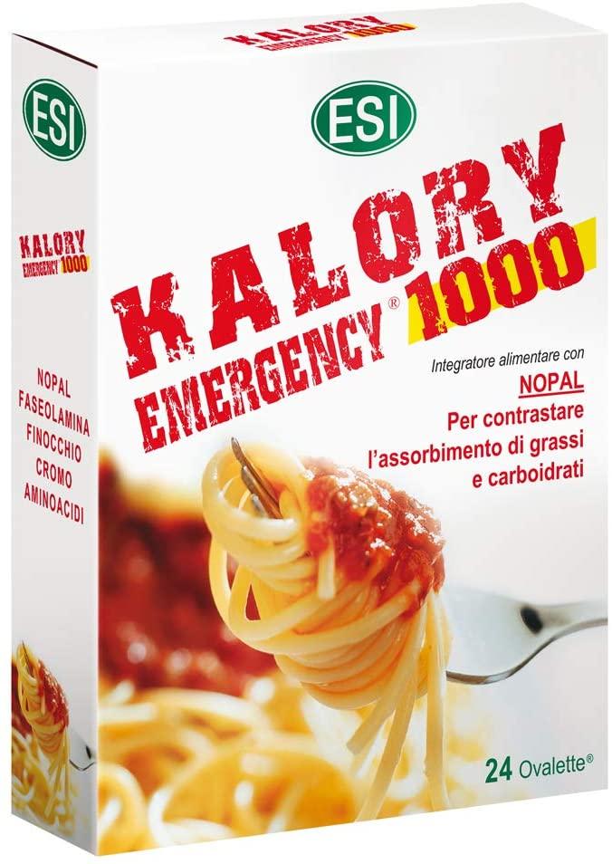 KALORY EMERGENCY 1000 : INTEGRATORE DIETETICO PER RIDURRE L'ASSORBIMENTO DELLE CALORIE