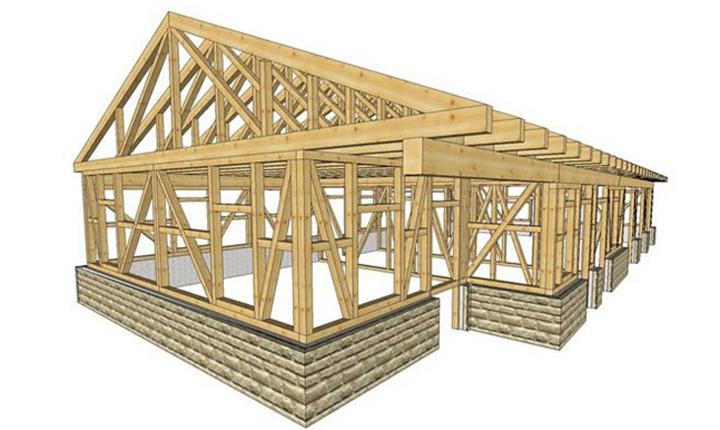 Edifici in legno: le tecniche costruttive